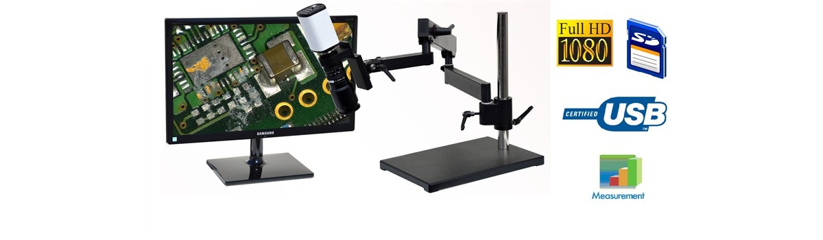 HD801 HD High Definition 1080p Digital Microscope 5x�112x or 10x �224x